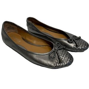 Sperry Top-Sider Maya Ballet Flats Pewter Size 7.5